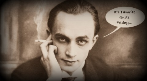 Conrad Veidt, Favorite Quote Friday