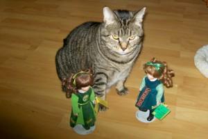 Henrietta and her Irish dolls